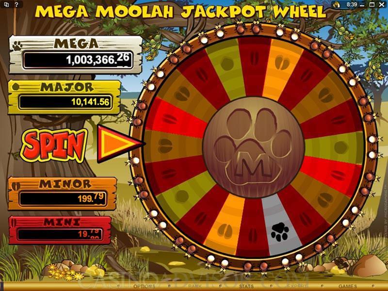 Jackpot Mega Moolah สล็อต