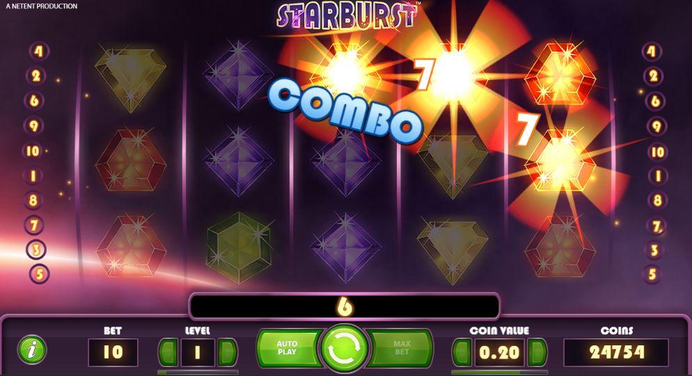 Starburst คาสิโนออนไลน์ได้เงินจริง